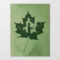 A New Leaf Canvas Print