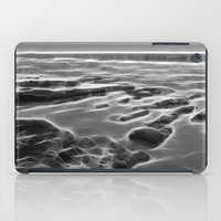Abstract coastal rock formations in Queensland iPad Case