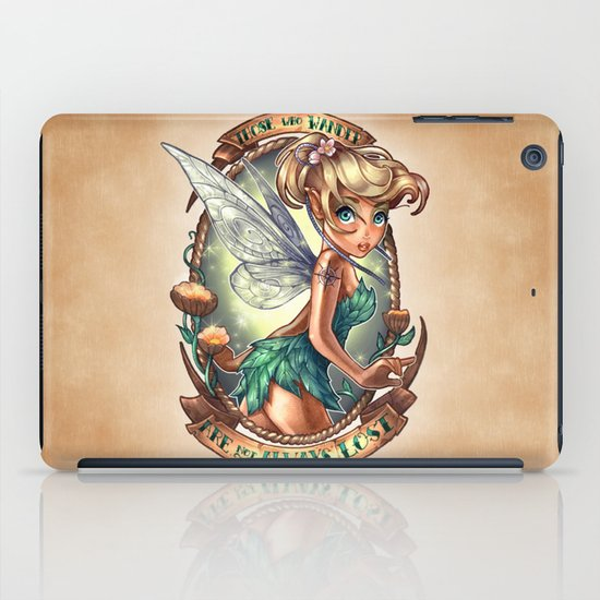 Those Who Wander Are Not Always Lost iPad Case