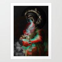 Senora Ceán Bermudez 2 Art Print