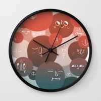 Blood Cells Wall Clock