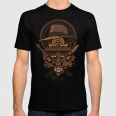 Fortune & Glory Mens Fitted Tee Black SMALL