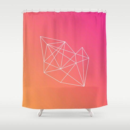 Geometry Shower Curtain