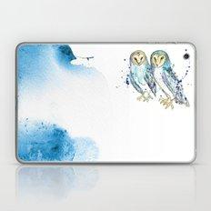 Blue Owls Laptop & iPad Skin