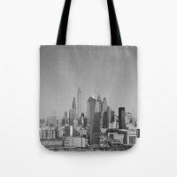 Black And White Philadel… Tote Bag