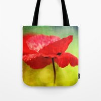 Adorable Poppies... Tote Bag