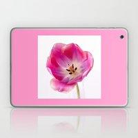 Pink Tulip Laptop & iPad Skin