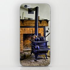 Wood Stove (Painted) iPhone & iPod Skin