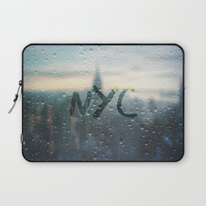 Rainy Day in NYC Laptop Sleeve / Laptop Sleeve - 13