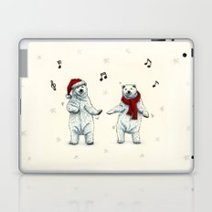 The polar bears wish you a Merry Christmas Laptop & iPad Skin