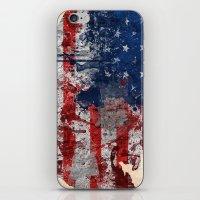 America Map  iPhone & iPod Skin