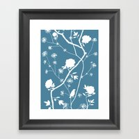 Jenny Chinoiserie Simple… Framed Art Print