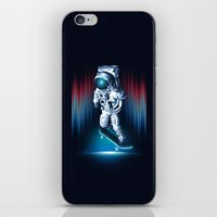 Space Skater iPhone & iPod Skin