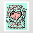 Love is here to stay Art Print