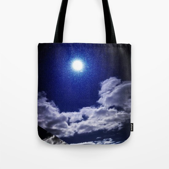 Signs in the Sky Collection I- in its original deep blue Tote Bag
