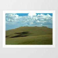 Rocky Mountain Green Tun… Art Print