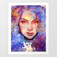 Passion And Tea Art Print