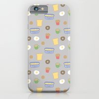 iPhone & iPod Case featuring breakfast by Sasha Polovodova