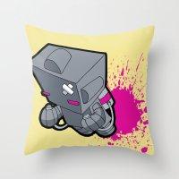 Space Cadet! Throw Pillow