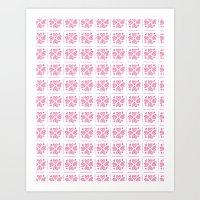 Pink 01 Art Print