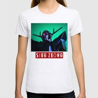 sieg zeong Womens Fitted Tee Ash Grey SMALL