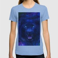 Panther Womens Fitted Tee Athletic Blue SMALL