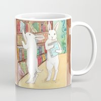 Bookstore Bunnies Mug