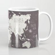 The World Map Mug