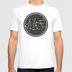Juice Galaxy Mens Fitted Tee SMALL White
