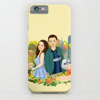 Custom illustration for a couple iPhone 6 Slim Case