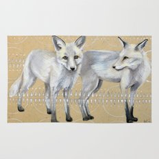 foxes Rug