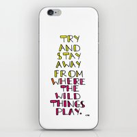 wild things - san cisco iPhone & iPod Skin