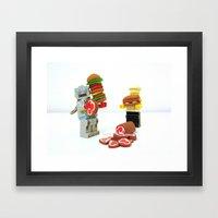 ESR LEGO Framed Art Print