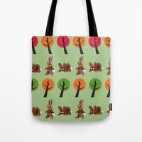 Watership Down Rabbits, … Tote Bag