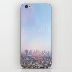 Los Angeles Skyline Typography  iPhone & iPod Skin