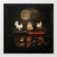 Fowl Play Canvas Print