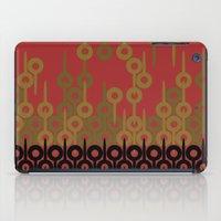 Pattern 1, Red iPad Case