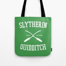 Hogwarts Quidditch Team: Slytherin Tote Bag