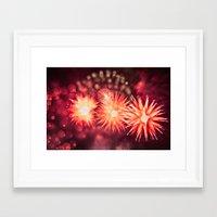 Fireworks - Philippines 12 Framed Art Print