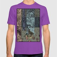 Keeper Of The Grove Mens Fitted Tee Ultraviolet SMALL