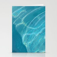 Water Words Stationery Cards