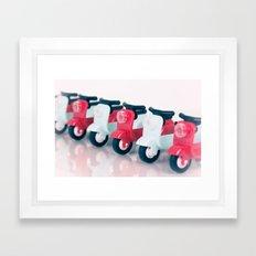 Zoom Zoom Framed Art Print