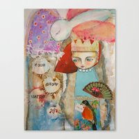 Your Story Matter - Girl… Canvas Print