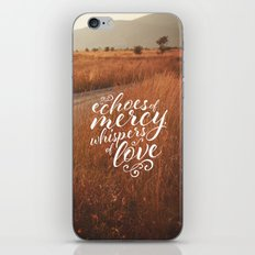 BLESSED ASSURANCE iPhone & iPod Skin