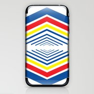 Primary Colors 2 iPhone & iPod Skin