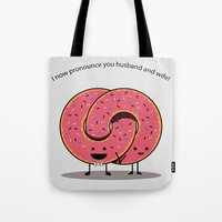 Husband and Wife Tote Bag