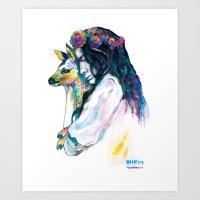 dear my love Art Print