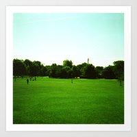 Primrose Hill (1) Art Print