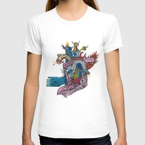 New god makina - Print available!! T-shirt