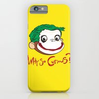 iPhone & iPod Case featuring Why So Curious? by Andy Hunt